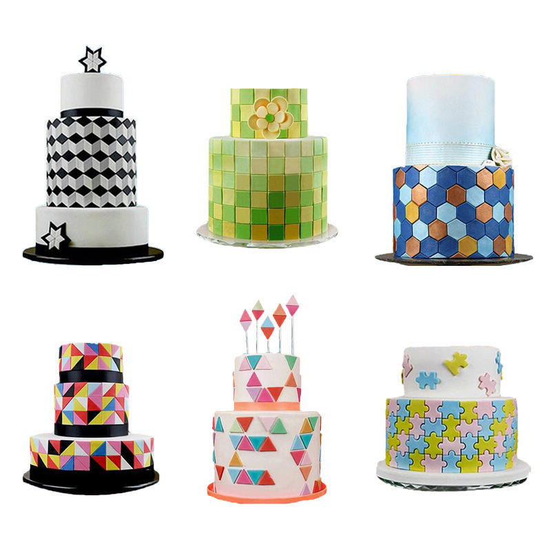 Geometric Figure Cake Multicutter