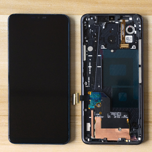 Image 1 - 6.1 LCD ل LG G7 LCD G710 G710EM G710PM G710VMP شاشة إل سي دي باللمس الجمعية شاشة محول الأرقام الإطار ل LG G7 thinQ LCD