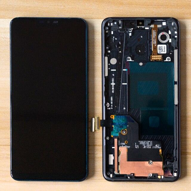 6.1 lcd lg G7 液晶G710 G710EM G710PM G710VMP lcdディスプレイタッチスクリーンアセンブリデジタイザフレームlg g7 thinq液晶