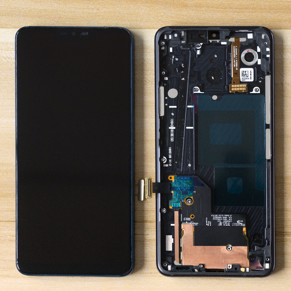 Original 6.1''LCD For LG G7 LCD G710 G710EM G710PM G710VMP LCD Display Touch Screen Assembly Digitizer Frame For LG G7 thinQ LCD
