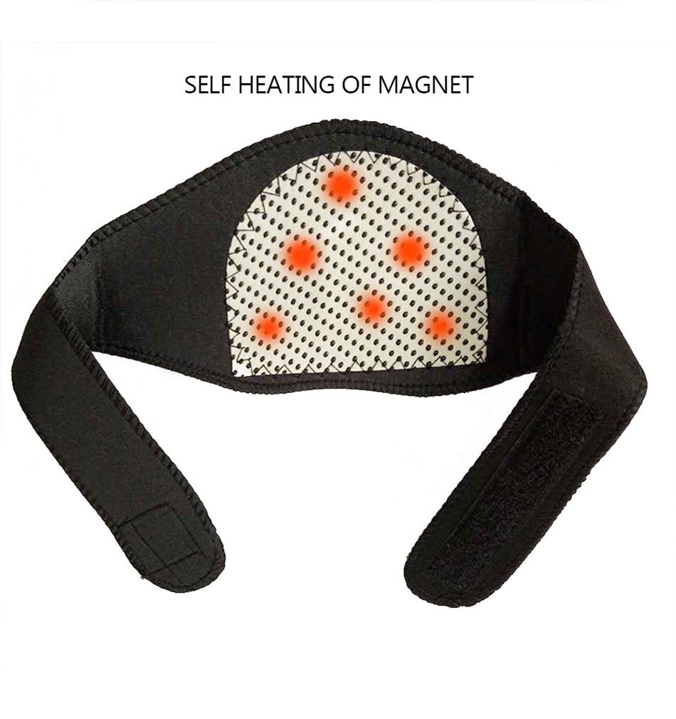 Neck Care Tool Health Massage Brace Support Massager Protection Heating Belt Neckband Masajeador