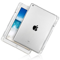 Ultra Thin Silicone Case For iPad Pro 12.9 2017 Case Soft TPU Back Cover for iPad Pro 12.9 Transparent Cases With Pen Slot