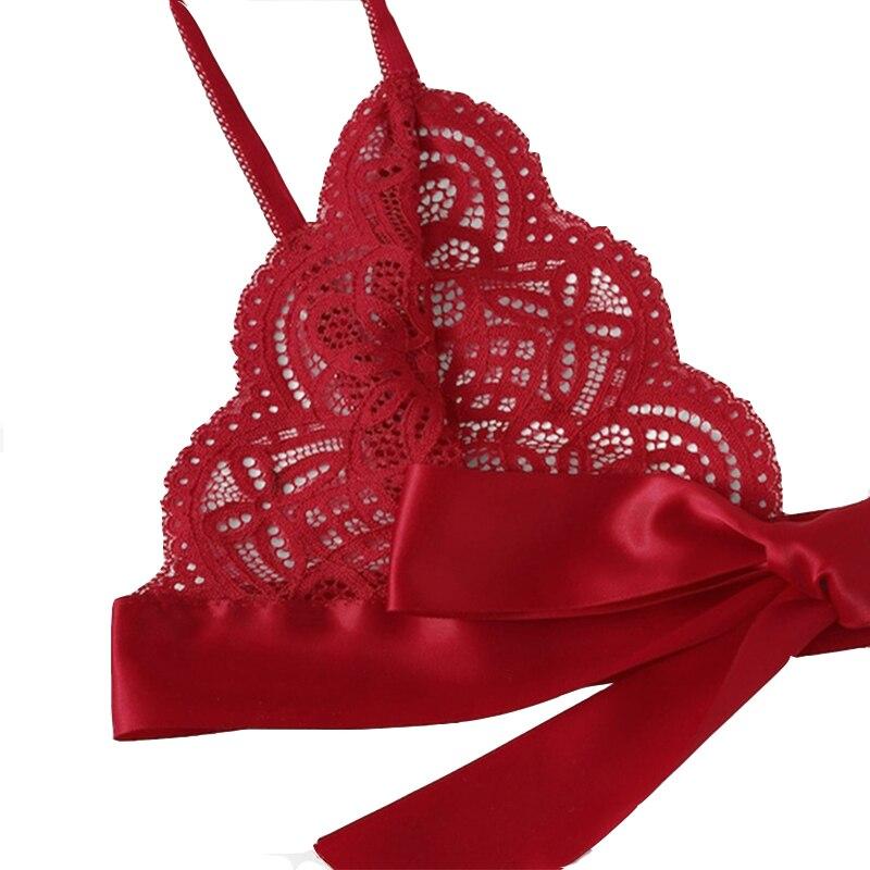 Рождество флирт сексуальное нижнее белье сексуальное белье лук кружева три точки День Святого Валентина сексуальный набор Экзотический на... 21