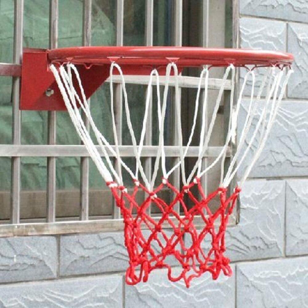 50cm Basketball Rim Mesh Net Non-whip Basketball Net 13 Loops Basketball Net Mesh For Basketball Ring &191