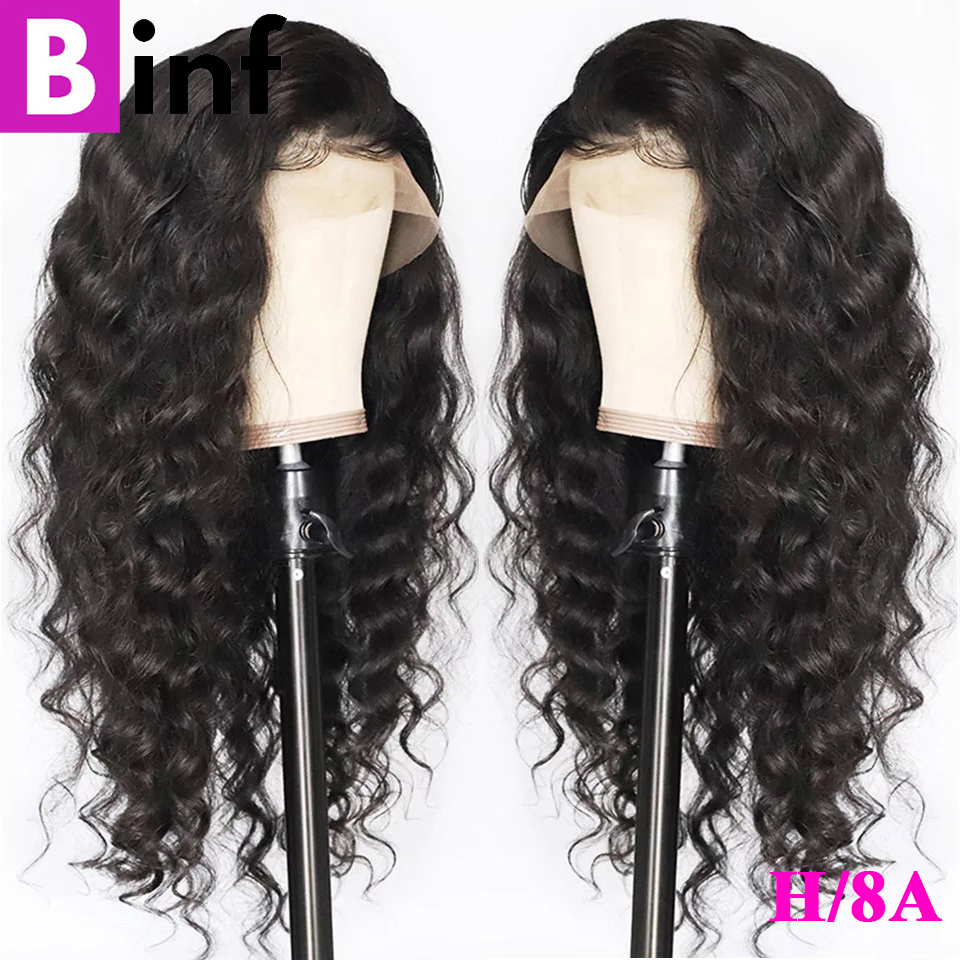 360 Lace Frontal Wig Loose Deep Glueless Remy Human Hair Wig Pre-Plucked With Baby Hair 2020 Fashion Hair Wig For Black Women