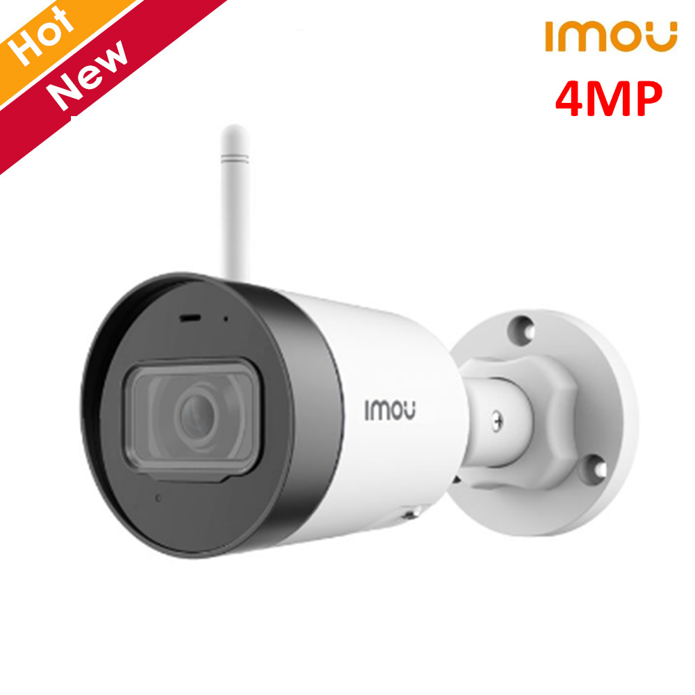 Dahua Imou 4mp Bullet Lite Wifi Camera Monitor Your Home Or Business In Any Weather Built-in Microphone Alarm Notification