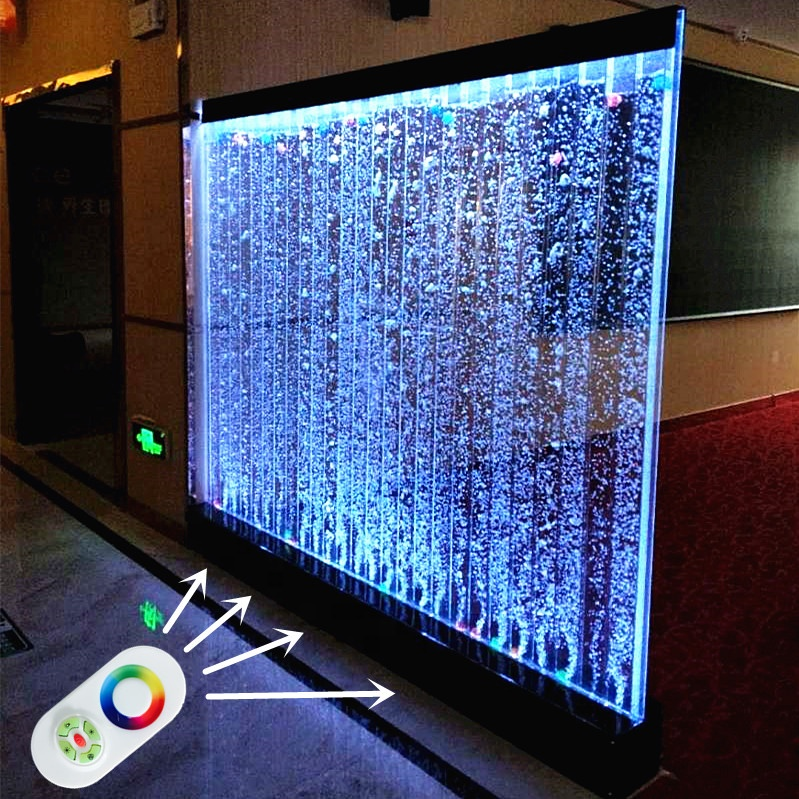 Restaurant Decoration Screen Led Water Bubble Wall Room Divider Panel