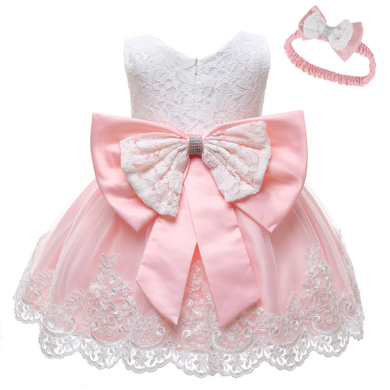 Vestido Infantil Summer Baby Girl Dress Clothes Infant Wedding Dresses For Girls Clothes Newborns Clothing 1 Year Birthday Dress