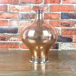 4 x 1,5 медный зажим, бесшовный шлем для виски, лук 4.5L, чистая медь 99,99%