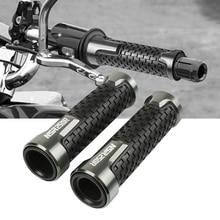 цена Hot sale 7/8''22mm  Motorcycle Accessories Rubber Hand Grip Bar handlebar grips Handle Bar Grip Cnc Aluminum For Honda NSR250 онлайн в 2017 году