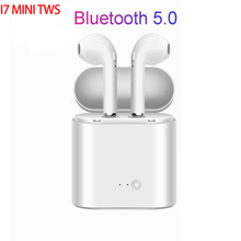 Russian Free Shipping TWS In-Ear Bluetooth I7s Mini Wireless Earphones Music Earbuds Stereo Headset For Iphone Samsung Xiaomi i7s tws mini wireless bluetooth earphone in ear stereo earbuds music sport headset for iphone xs samsung s9 xiaomi huawei