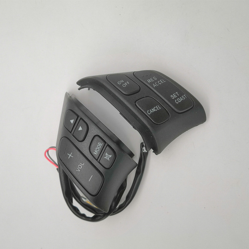 Рулевое колесо Кнопка включения/выключения круиз контроль громкости звука управления переключатель для Mazda 6 GG G22C-66-4M0A GJ6A-66-4M0A