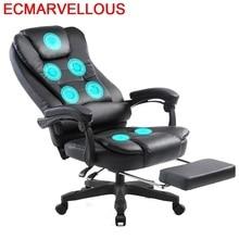 Boss masaż Taburete stołek Gamer Stoelen biuro Meuble Stoel Sillon Lol skórzany komputer Cadeira Poltrona Silla fotel gamingowy