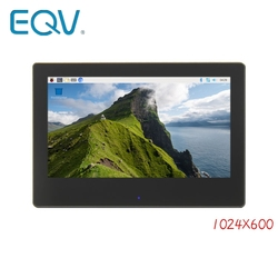 LCD 7.0 Inch 1024*600 HDMI IPS USB Capacitive Touch LCD Module Display Monitor Screen Panel with Enclosure for Raspberry Pi