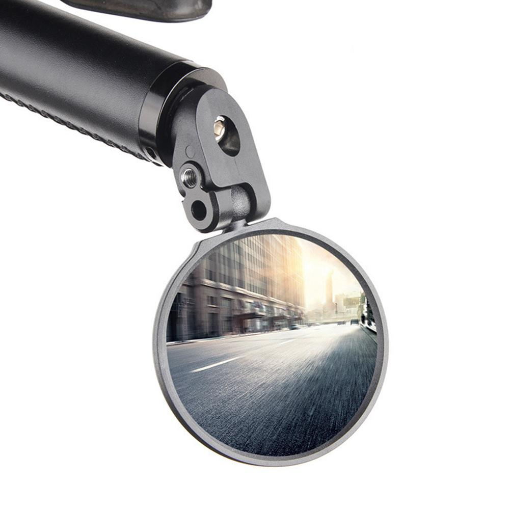 1 PCS Adjustable Foldable Bike Rearview Mirror Cycling Mountain Road Bike Adjustable Clear Rear View Mirror Bicycle Accessories