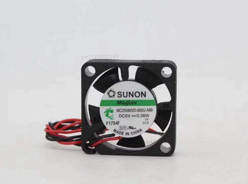 For Sunon MC25060V2-000U-A99 Computer Blower Cooling Fan DC 5V 0.115A 0.38W 25*25*6.9mm Free Shipping