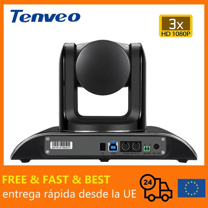 [EU] Бесплатная налог Tenveo VHD3U 3X зум USB PTZ видеоконференции Камера с H.264 прямой трансляции потокового Камера товары для здоровья