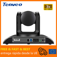 [EU Stock] FREE TAX Tenveo VHD3U 3X Zoom USB PTZ Video Conference Camera With H.264 Broadcast Live Streaming Camera Healthcare