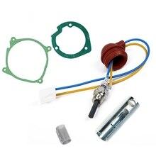 1set 5pcs Car Air Diesel Gaskets Strainers+12V/24V Ceramic Glow Plug For 2 5kw Air Diesel Heater Similar Webasto Eberspacher