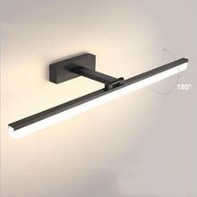 Wall-Light Lamp Vanity-Mirror Picture-Sconce Makeup Zerouno Led Bathroom Aluminum Waterproof