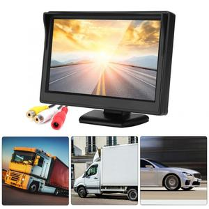 Image 5 - 5in voiture moniteur HD TFT LCD inversion Parking étanche moniteur pour voiture caméra de recul rétroviseur moniteur camara para auto