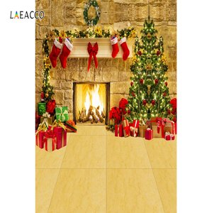 Image 4 - Laeacco Weihnachten Festivals Baby Spielzeug Geschenk Alt Holz Regal Boden Baby Kind Party Porträt Foto Hintergrund Fotografie Hintergrund