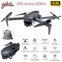 new 193pro Drone With Two-axis Gimbal Brushless Motor 2000 Meters Remote Control Gps Drone 4k Rc Aircraft Dron Fly Toys For Boy(China)