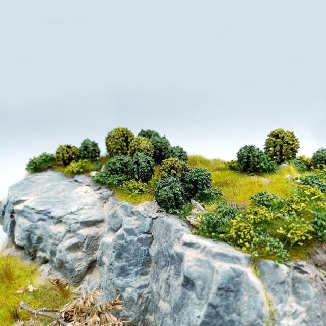 Model Tree Miniature Green Trees Railway Road Landscape Park House Layout Simulation Bush Tree Scene Sand Table Building Kits 6