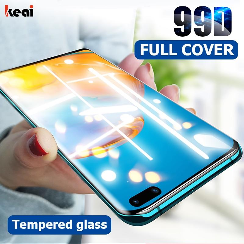 Ochraniacz ekranu 99D do Huawei P40 P30 Lite P20 Pro szkło hartowane do Huawei P smart Plus 2019 2018 P40 Lite szkło hartowane