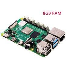 Original raspberry pi 4 modelo b 8gb ram raspberry pi 4 1.2 versie bcm2711 quad core Cortex-A72 braço v8 1.5ghz