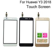 Glass Touch-Screen Huawei Digitizer-Panel-Sensor Lite for Y3 3M Glue-Wipes Y5