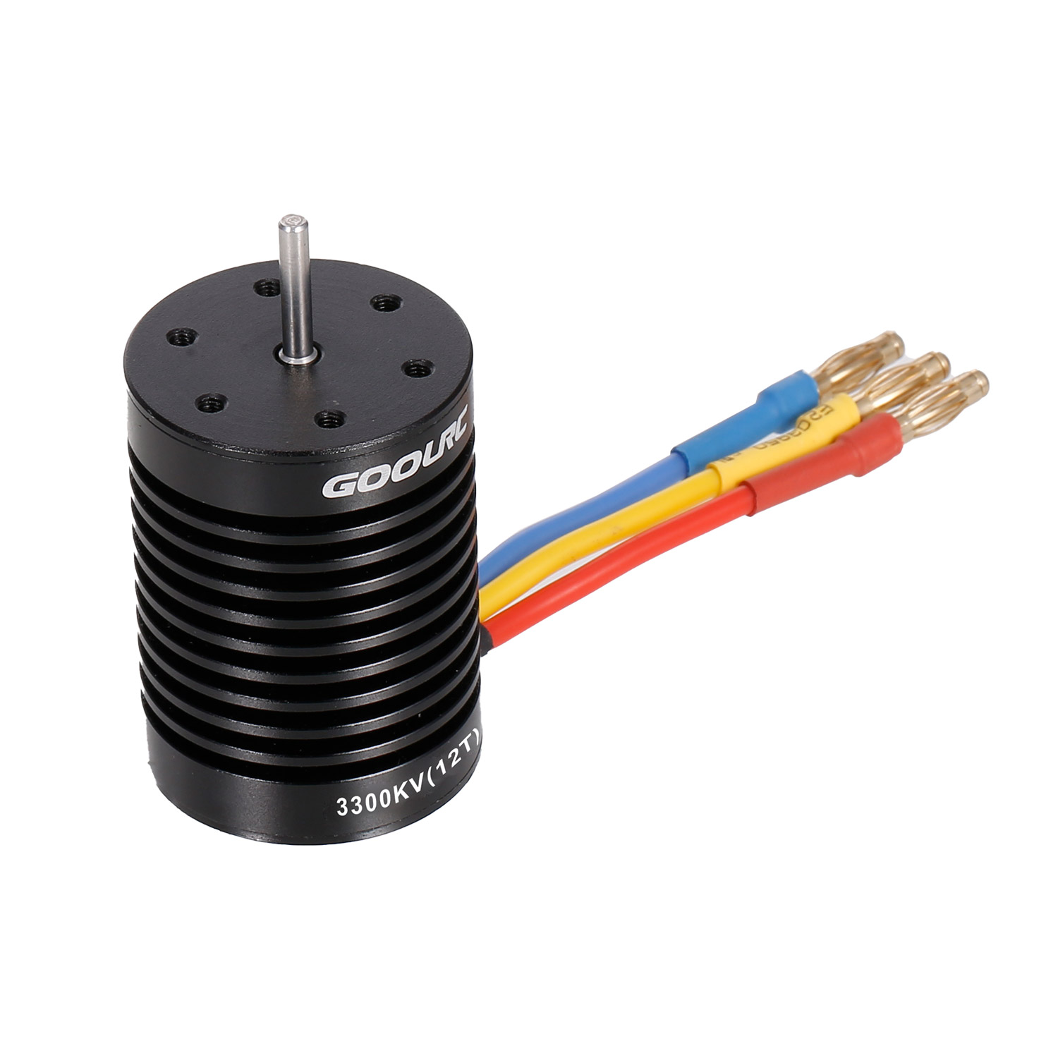 <font><b>GoolRC</b></font> 12T Motor <font><b>3650</b></font> 3300KV Brushless Motor 60A ESC Electronic Speed Controller 5.8V/3A BEC 21T 28T Gear for 1/10 RC Car Parts image