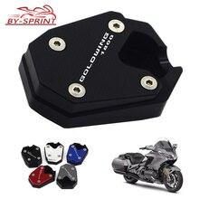 Лазерный логотип мотоцикла CNC подножка боковая подставка увеличение расширение для HONDA Goldwing 1800 GL 1800 GL1800 товар