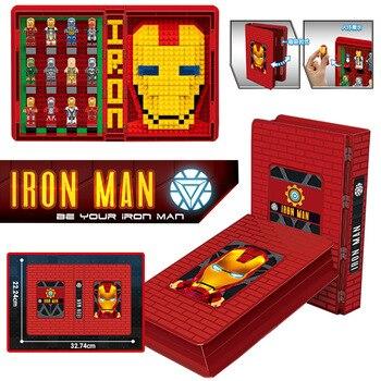 Nuevo 2020 Los vengadores de Marvel súper héroes de hierro hombre araña hombre colecciones libro cifras bloques de construcción ladrillos Juguetes, Juguetes de regalo