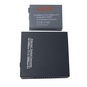 Image 2 - 1 Cặp 10/100 Mbps Fiber Optic Media Chuyển Đổi 1 CH * SC 8 CH * RJ45 Netlink Htb Chuyển Đổi 1 CH * SC 1 CH * RJ45 Thu Phát Sợi Quang