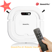 Grand Pro A1 Intelligent Vacuum Cleaners Home Appliance Automatic Sweeping Robot Pet Hair Floor Care, Robot Vacuum Cleaner