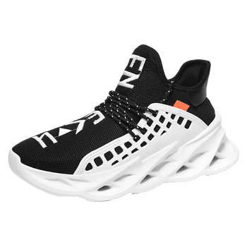 2020 New Fashion Men Sport Shoes Fire Breathable Running Sneakers Casual Platform Walking