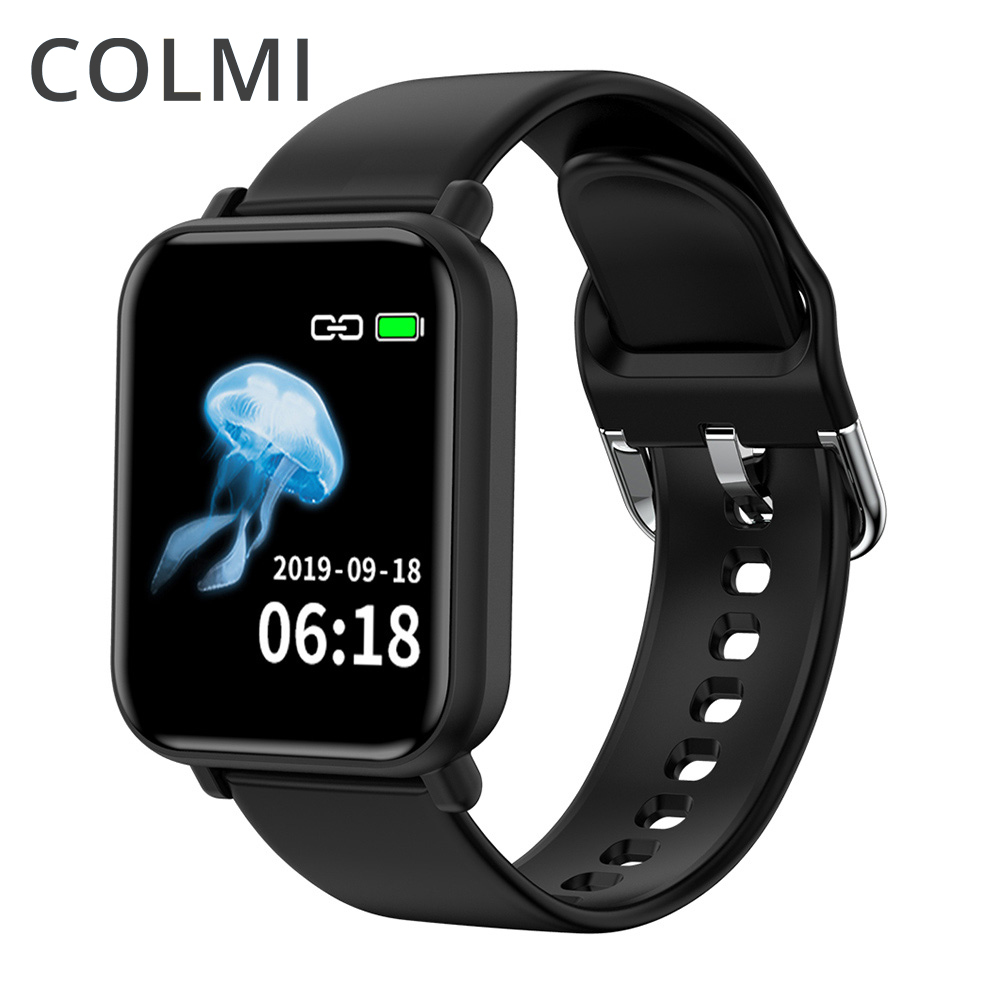 COLMI Smart Watch IP68 Waterproof Heart Rate Monitor Multiple Sports Fitness Tracker Men And Women Fitness Tracker PK B57