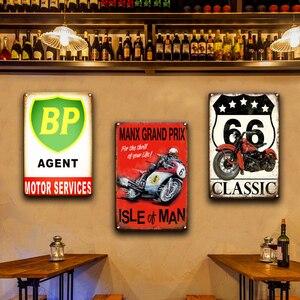 Индийских мощных мотоциклов, металлическая вывеска, винтажный Декор для дома в гараже, BP NGK, Pin-up, постер для девочек, оловянные вывески, метал...