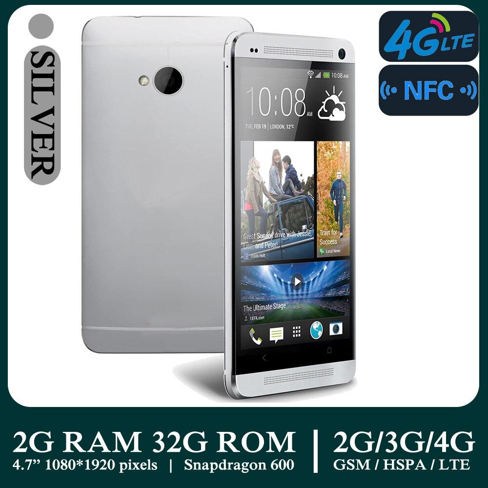 1080*1920 4 ядра новый M7 смартфонов 4 аппарат не привязан к оператору сотовой связи NFC 2G Оперативная память + 32G Встроенная память HD Android мобильных ...