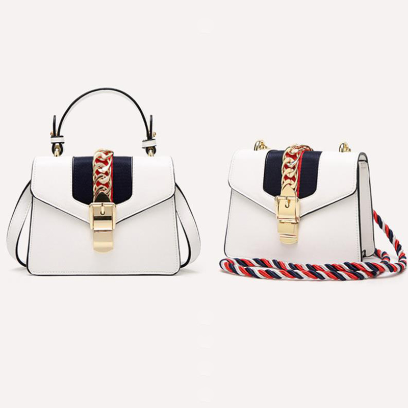 Women Genuine Leather Bag 2019 Luxury Handbags Women bags Small Crossbody Bags For Girls Luxury Famous Brand