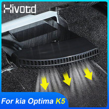 Hivotd-rejilla de ventilación de salida de aire para asiento de coche, embellecedor de marco, accesorios de modificación, para Kia Optima K5 2021 2020