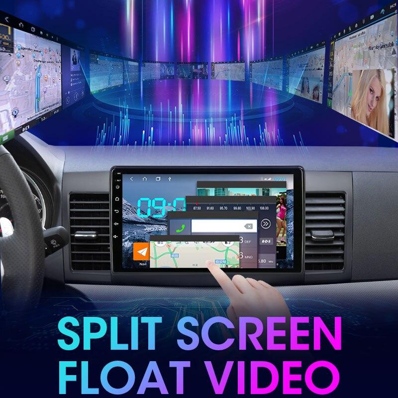 Купить автомобильный радиоприемник ts6 android100 4g + 64g 2 din для
