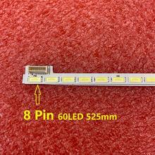 60LED LED bande de rétro éclairage pour for LG 42LS570  42LS570T 42LS5600 42LS560T 42LS570S 42LS575S LG innotek 42inch 7030PKG 60ea 74.42T23.001 2 DS1