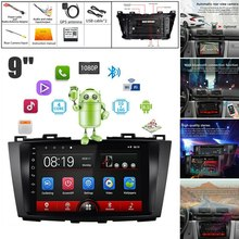 9 Inch Android 8.1 2.5D HD Press Sn Car MP5 Player 1G+16G Wifi Bluetooth FM Radio for Mazda 5 GPS Navigation(China)