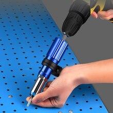 Drill-Adapter-Kit Electric-Pull-Rivet-Gun Nail-Gun Nail-Riveting-Tool Metal Portable-Supplies