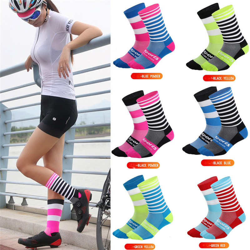 Unisex Cycling Socks Men Outdoor Mount Sports Waterproof Bike Footwear For Road Bike Socks Men Running Basketball Sport Socks