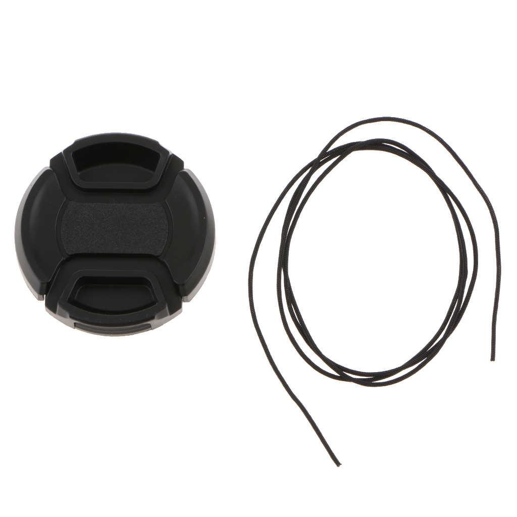 Anti-pérdida de Snap-On tapa arquero Cordón Correa de cubierta de lente para cámara réflex digital