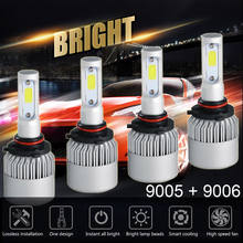 Lampe turbo Super brillante 36W 12000LM | 2 pièces de voiture, S2, HIR2, balle(China)