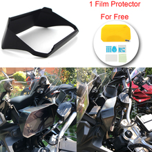 For BMW R1200GS R1250GS/ADV lc Sun Visor Speedometer Tachometer Cover Display Shield F850GS C400X S1000XR Motorcycle Accessories moto instrument hat sun visor meter cover guard screen protector for bmw r1200gs lc adventure r1250gs lc adv f750gs f850gs c400x